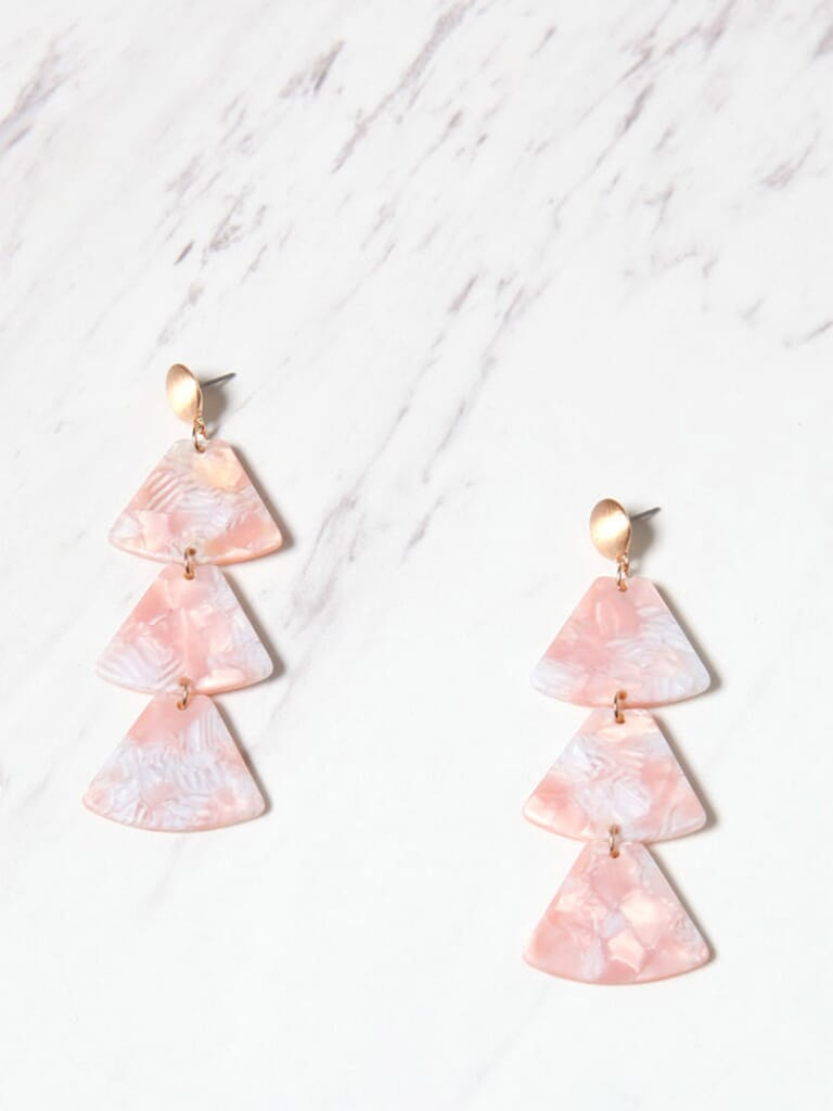 8 Other Reasons Seaside Duster Earrings in Pink