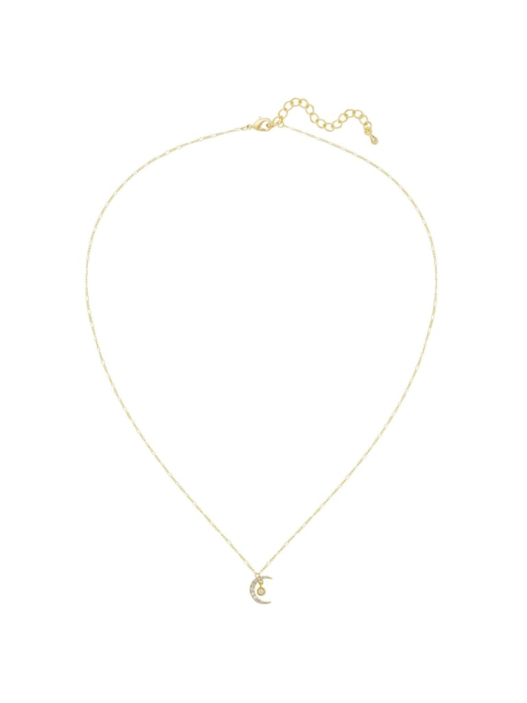 Five and Two Sienna Necklace in Gold