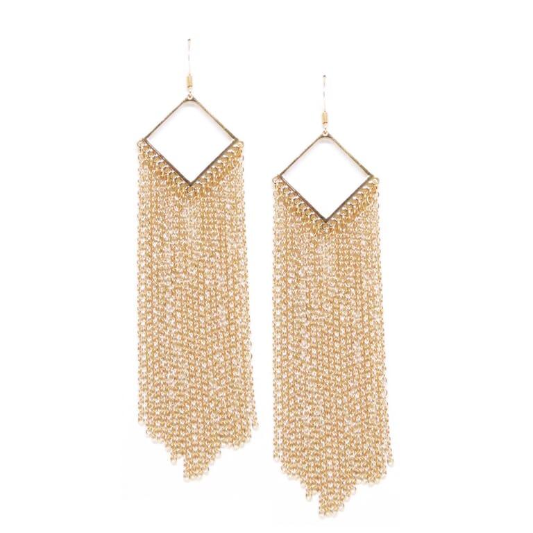 Ettika Sleek & Sexy Earrings in Gold