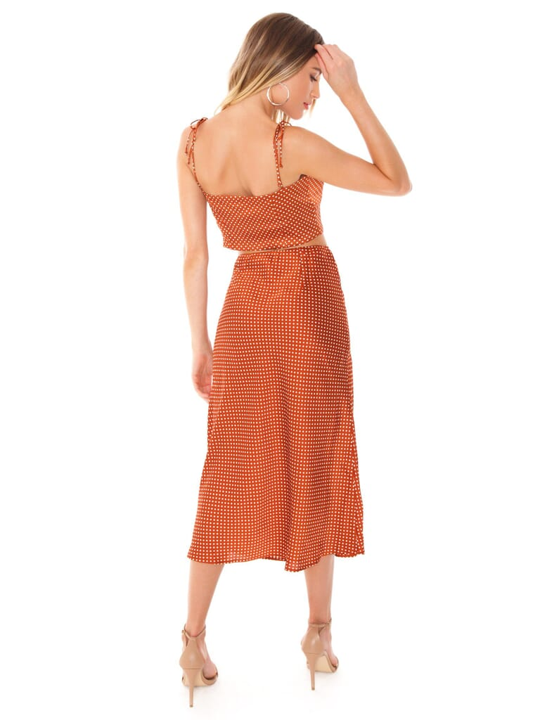 FashionPass Sophie Two Piece Set in Copper