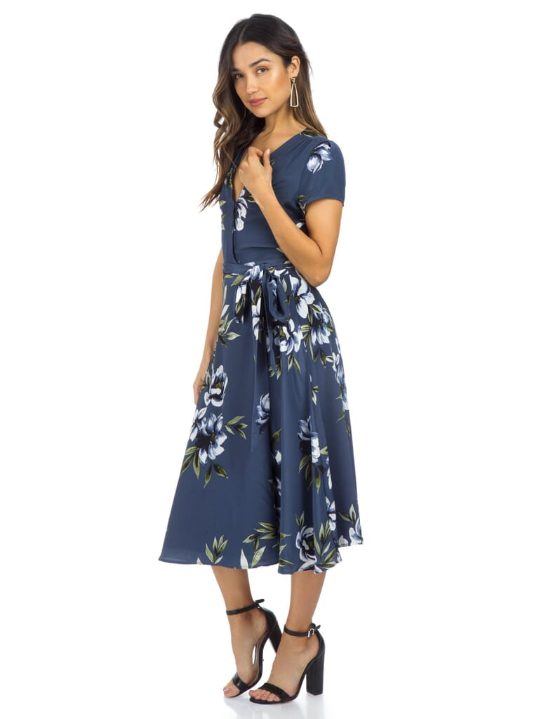 YUMI KIM Spin Me Around Silk Dress in Whimsical Play