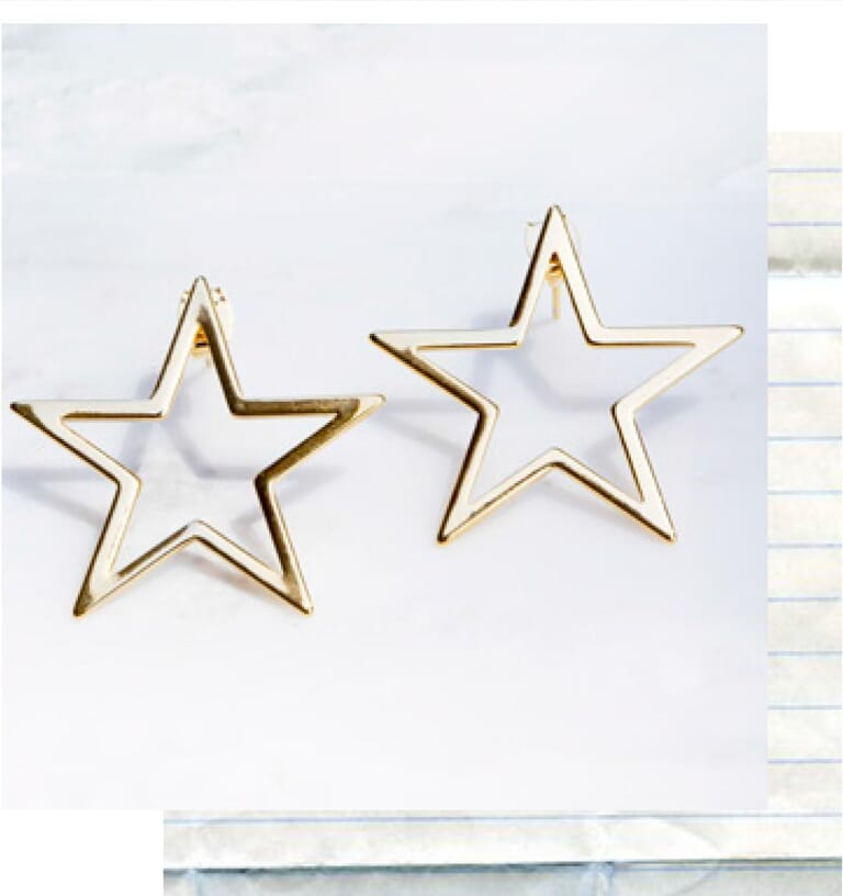 8 Other Reasons Starchild Earrings in Gold