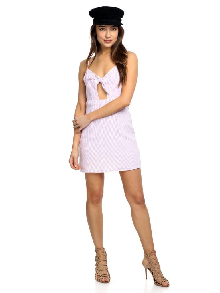 FashionPass Swept Away Mini Dress in Pink
