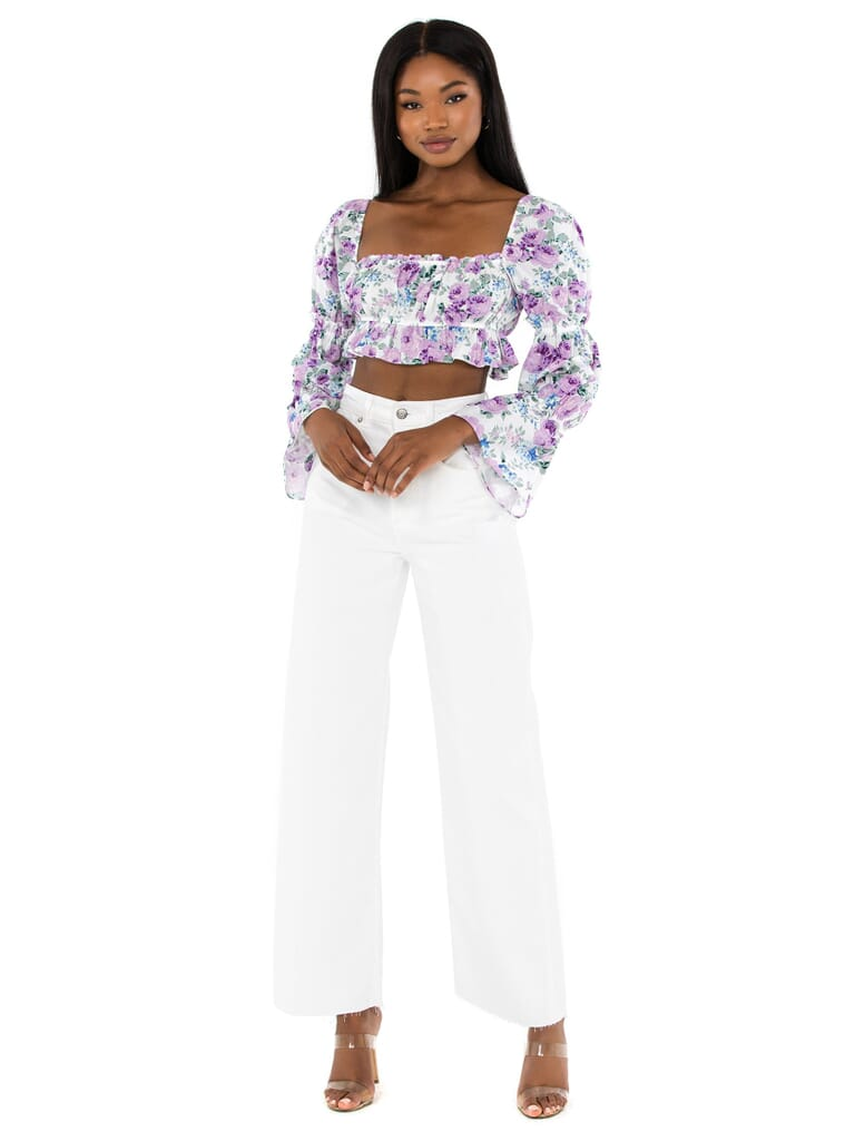 RAYS FOR DAYS Tanya Top in Ditsy Floral
