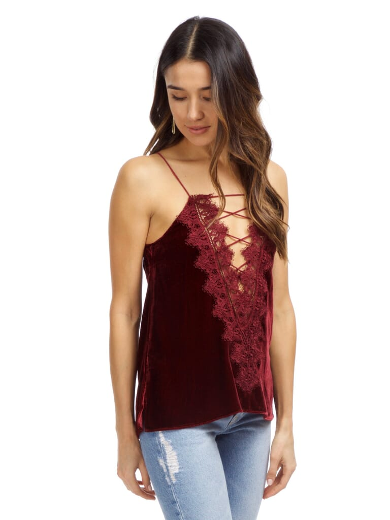 Cami NYC  Charlie Cami in Black Cherry