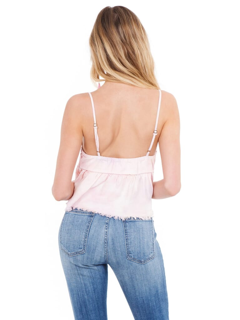Show Me Your Mumu Valerie Top in Rainbow Sherbet Chambray