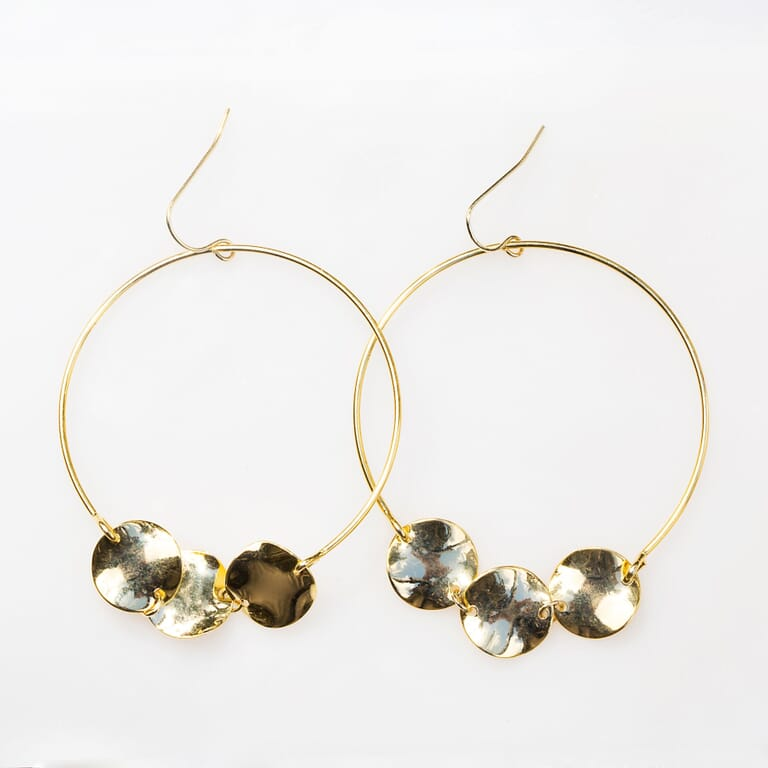 8 Other Reasons Waterfall Earring in Gold