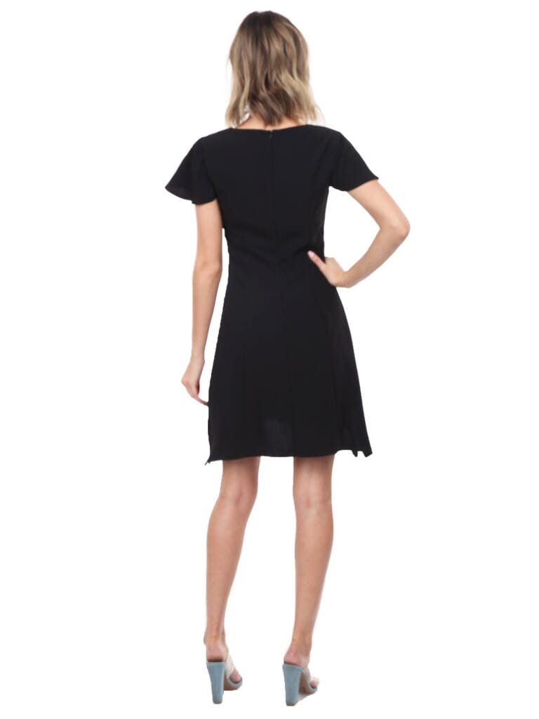 Amanda Uprichard Willa Dress in Black