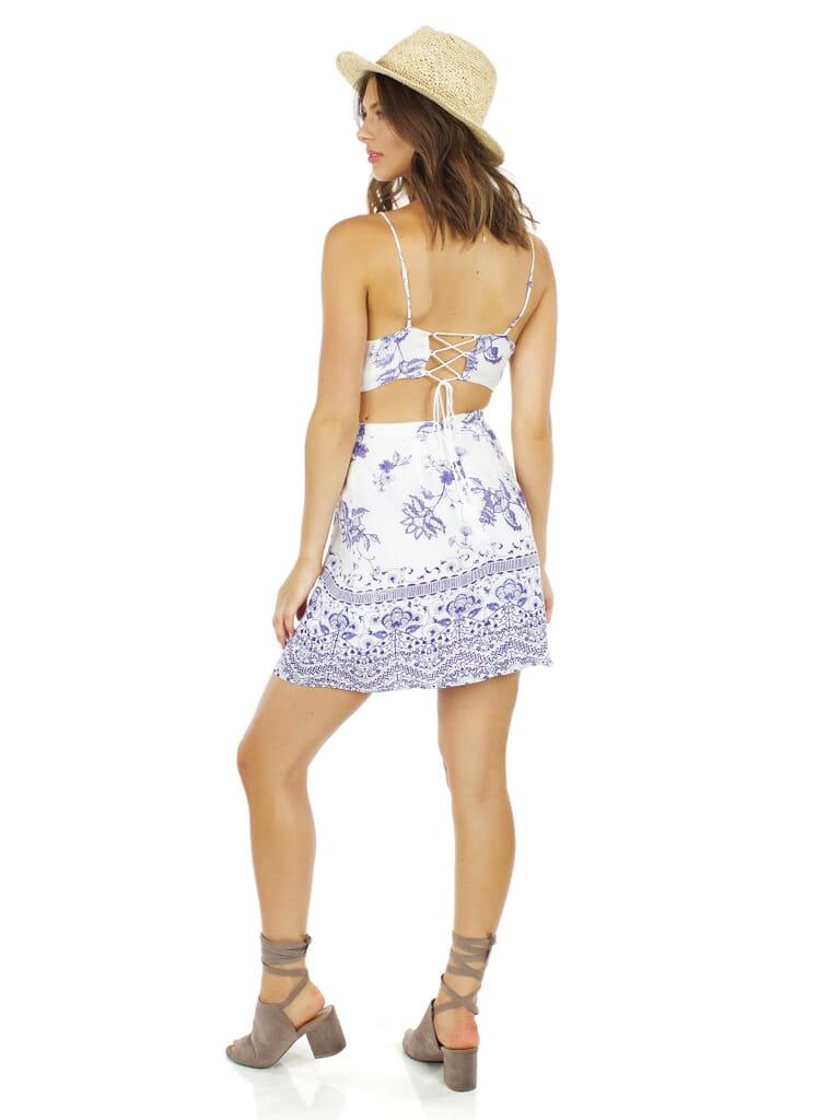 The Jetset Diaries Zulu Mini Dress in Zulu Print
